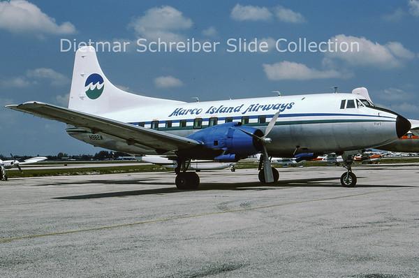 1978-04 N982M Martin 404 (c/n 14247) Marco Island Airways