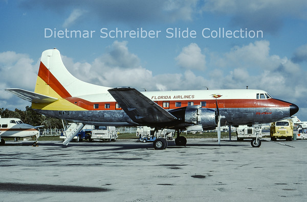 1979-11 N147S Martin 404 (c/n 14161) Florida Airlines
