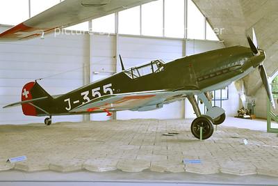 2011-06-11 J-355 Messerschmidt BF109 Swiss Air Force