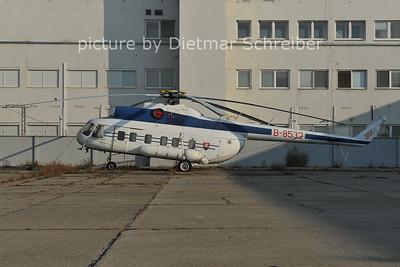2011-10-05 B-8532 Mil mi8 Slovak Police