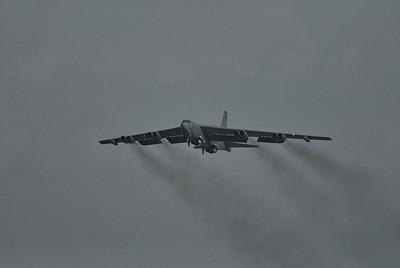"B-52 Stratofortress ""Buff"" takeoff"