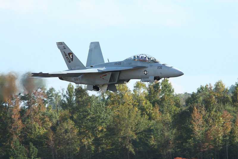 FA-18 Super Hornet fighter jet at The Great Georgia Air Show 2009