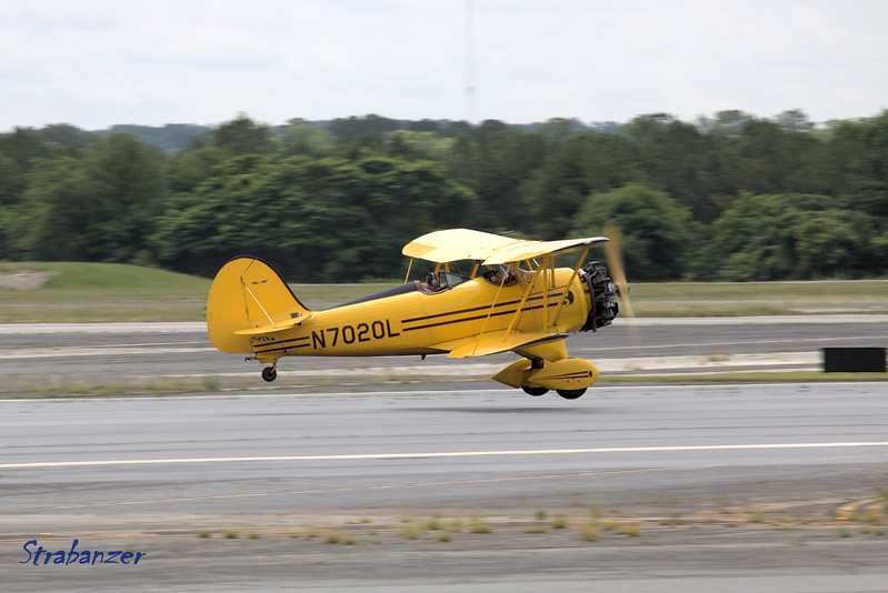 WACO YMF-45C c/n FSC085 N7020L<br /> Biplane Rides Over Atlanta LLC<br /> <br /> KPDK, DeKalb, GA,   05/28/2017<br /> This work is licensed under a Creative Commons Attribution-<br /> NonCommercial 4.0 International License