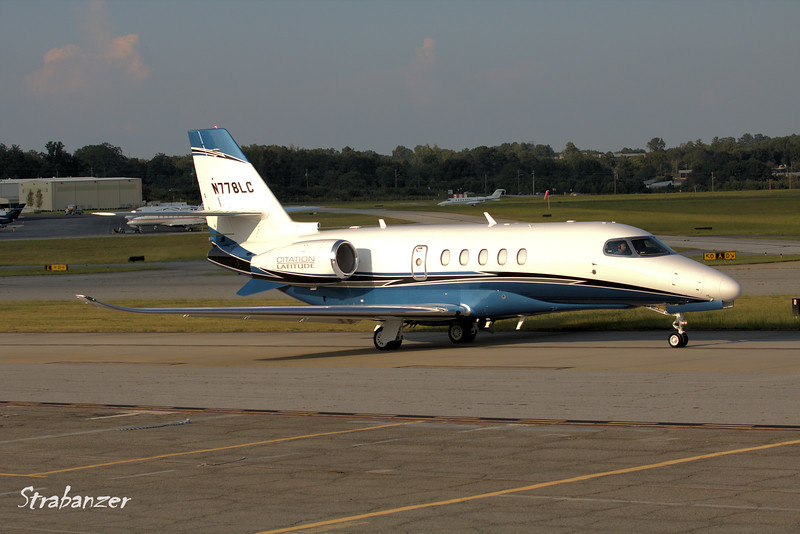 Textron Aviation INC 680A  Citation Latitude c/n 680A0085    <br /> N778LC<br /> CD AVIATION LLC, GREENSBORO , NC, US <br /> <br /> KPDK, DeKalb, GA,   09/22/2017<br /> This work is licensed under a Creative Commons Attribution-<br /> NonCommercial 4.0 International License