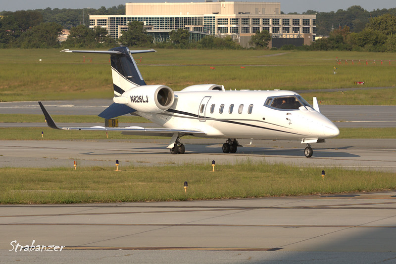 Learjet 60  c/n 145   N826LJ<br /> B2 EQUITY HOLDINGS INC   NAPLES , FL, US <br /> Heading out to Naples Municipal (KAPF)<br /> <br /> KPDK, DeKalb, GA,   09/22/2017<br /> This work is licensed under a Creative Commons Attribution-<br /> NonCommercial 4.0 International License