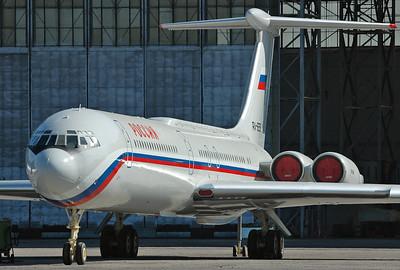 Moscow-Domodedovo (DME/UUDD) on July 21, 2007. Rossiya - Russia State Transport Company - Ilyushin Il-62M RA-86559 (cn 2153258/fn 5305).