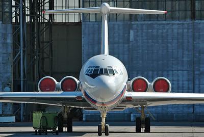Moscow-Domodedovo (DME/UUDD) on July 2007. Rossiya - Russia State Transport Company - Ilyushin Il-62M RA-86559 (cn 2153258/fn 5305).