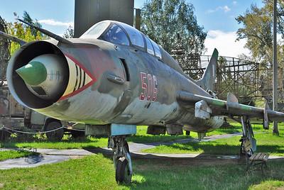 """Sukhoi Su-22UM3K Fitter-G """"506 Red"""""""
