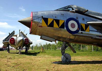 Lightning and Buccaneer - East Midlands Aeropark