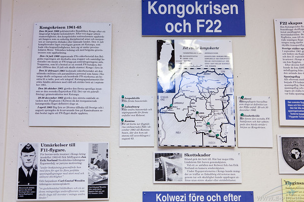 The Congo crisis and the Swedish Airforce action