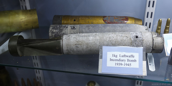 1 Kg Luftwaffe Incendiary Bomb