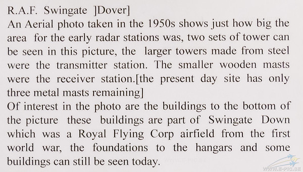 Chain Home, RAF Swingate (Dover)
