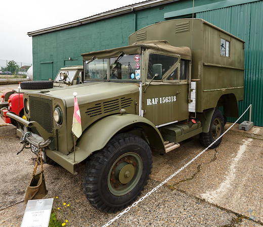 Bedford M.W. (E) Radio Van, Reputed to be one of the first three vehicles into Berlin
