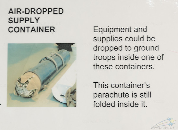 Air Dropped Supply Container