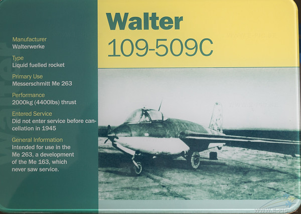 Walter 109-509C engine for Me 263