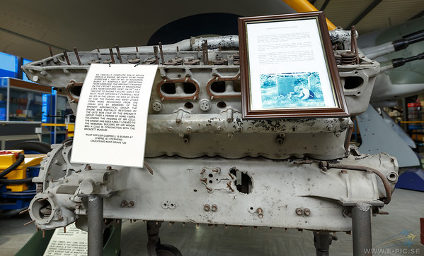 Rolls Royce Merlin III engine