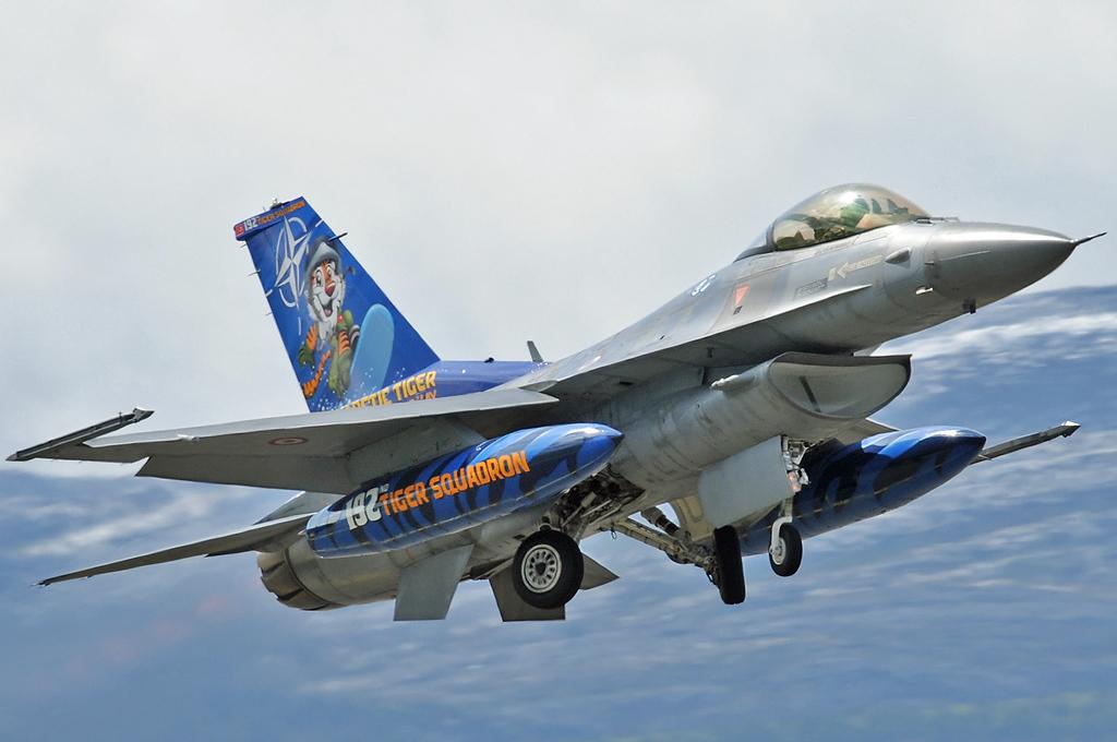 "NATO Tiger Meet at Ørland MAS (OLA/ENOL) on June 1, 2012. Turkish Air Force (Türk Hava Kuvvetleri) Lookheed Martin F-16C Fighting Falcon 94-0090 (cn HC-54/94-0090). Operated by 192 Filo ""Tiger squadron"" based at Balikesir AB."