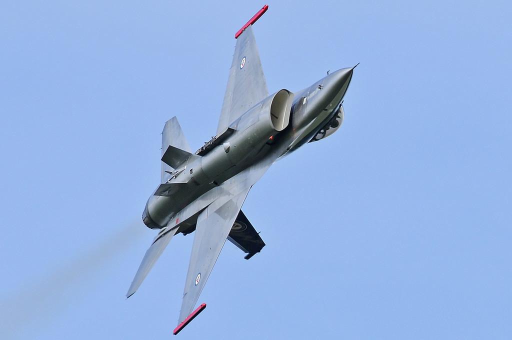 "NATO Tiger Meet Airshow at Ørland MAS (OLA/ENOL) on June 2, 2012. Royal Norwegian Air Force General Dynamics F-16AM Fighting Falcon ""686"" (cn 6K-58/80-3686)."