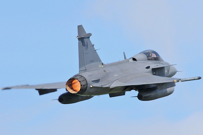 "NATO Tiger Meet at Ørland MAS (OLA/ENOL) on June 1, 2012. Czech Air Force Saab JAS-39C Gripen ""9245"" (cn 39-245)."