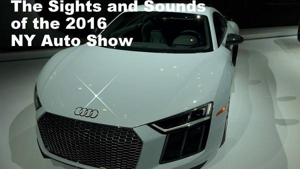 NY Auto Show 2016 Video