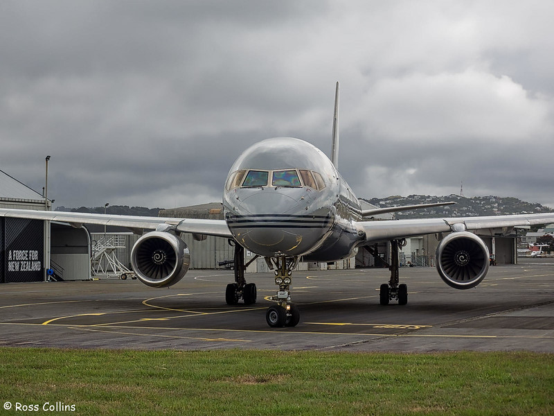 RNZAF NZ7572 at Wellington, 20 December 2018