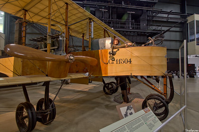 National Museum of the United States Air Force, Dayton, Ohio,   04/12/2019  Caproni Ca. 36 muliti-engined heavy bomber.  This work is licensed under a Creative Commons Attribution- NonCommercial 4.0 International License.