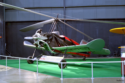 National Museum of the United States Air Force, Dayton, Ohio,   04/12/2019  Kellett K-2 Autogiro c/n 2  NC10767 This machine had been used in the Army evaluation of 1931,  This work is licensed under a Creative Commons Attribution- NonCommercial 4.0 International License.