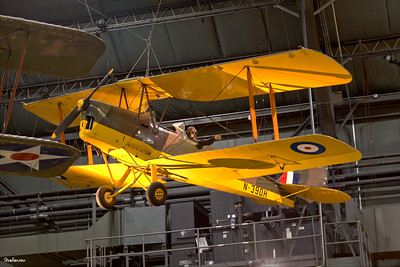 National Museum of the United States Air Force, Dayton, Ohio,   04/12/2019  De Havilland DH-82A Tiger Moth II, C/N: 85674  N39DH  This work is licensed under a Creative Commons Attribution- NonCommercial 4.0 International License.