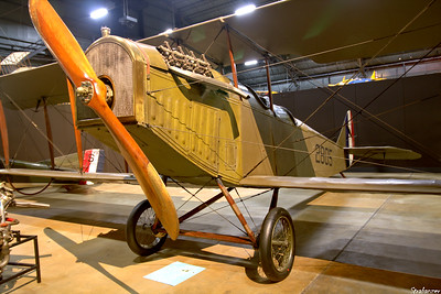 National Museum of the United States Air Force, Dayton, Ohio,   04/12/2019  Curtiss JN-4D Jenny    c/n 278   A2805  This work is licensed under a Creative Commons Attribution- NonCommercial 4.0 International License.