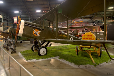 National Museum of the United States Air Force, Dayton, Ohio,   04/12/2019  De Havilland DH-4B reproduction  This work is licensed under a Creative Commons Attribution- NonCommercial 4.0 International License.