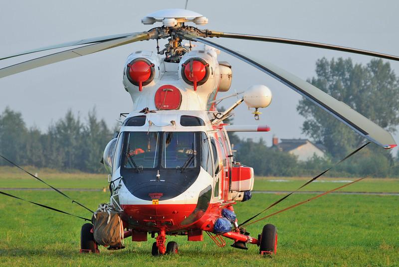 "Radom Air Show at Radom-Sadkow (EPRA) on August 27, 2011. Polish Navy PZL-Swidnik W-3WARM Anakonda ""0815"" (cn 360815)."