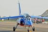 Radom Air Show at Radom-Sadkow (EPRA) on August 27, 2011. Patrouille de France Dassault-Dornier Alpha Jet E F-UGFF/1 (cn E85).