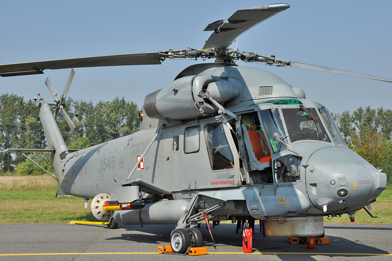 "Radom Air Show at Radom-Sadkow (EPRA) on August 27, 2011. Polish Navy Kaman SH-2G Super Seasprite ""3545"" (cn 249)."