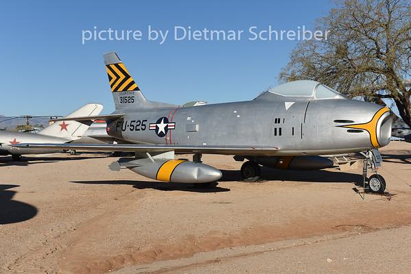 2015-02-08 53-1525 F86 Sabre USAF