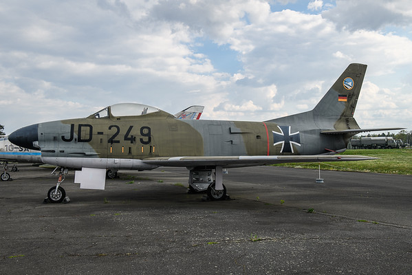 2019-04-27 JD-249 F86 Sabre German Air Force
