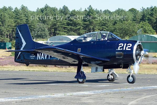 2012-08-18 N343NA T28 Trojan