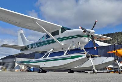 Notodden Airport (NTB/ENNO) on April 30, 2013. Private Cessna TU.206G Stationair 6 LN-AAI (cn 206-6863).