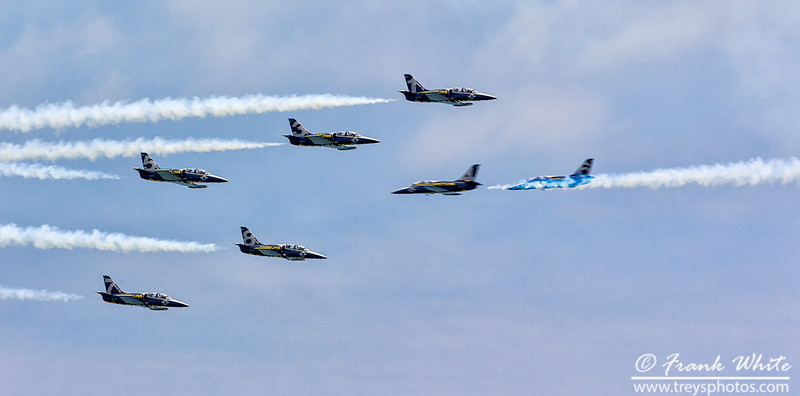 Breitling Jet team in action
