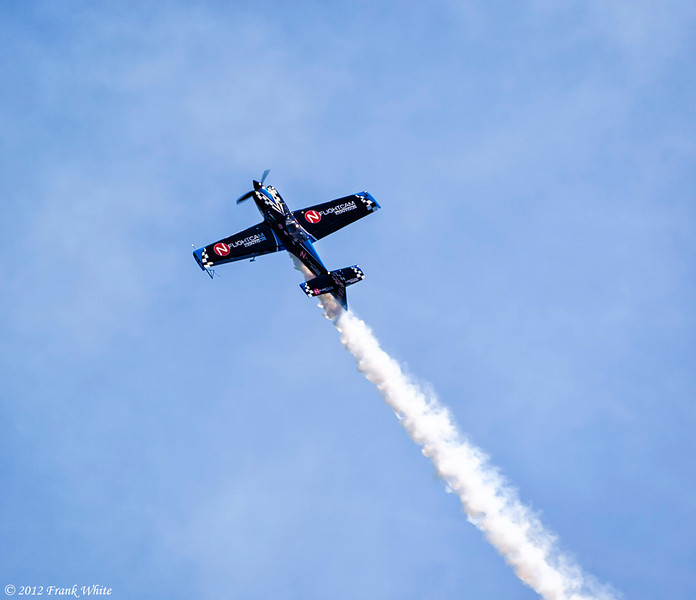 Rob Holland flying a MXS/RH aerobatic aircraft. Ocean City, MD 2012 Airshow.