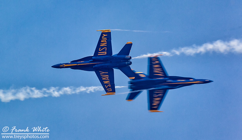 Blue Angels aerobatic team