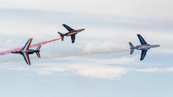Alpha Jet, Dassault, French Air Force, Opposition Pass, Patrouille Acrobatique de France, RIAT 2015
