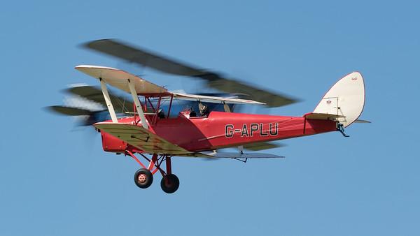 DH-82A, De Havilland, Display Team, G-APLU, Opposition Pass, Shoreham 2015, Special, Tiger Moth, Tiger Nine Formation Team