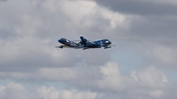 2000EX, Dassault, Falcon, Falcon 20, G-FRAS, G-FRBA, Opposition Pass, RIAT 2007