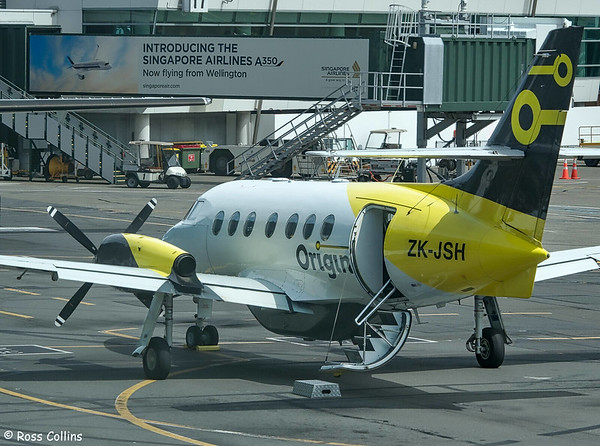 Originair Jetstream 31 at Wellington, 12 February 2020