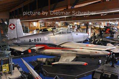 2011-06-11 A-801 Pilatus P3 Swiss Air Force