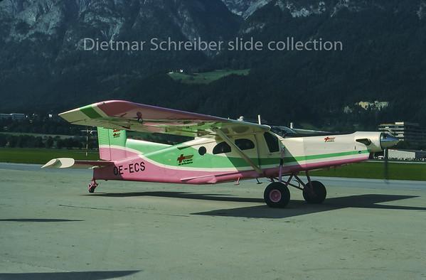 1987-10 OE-ECS Pilatus PC6 Tyrolean Air Ambulance