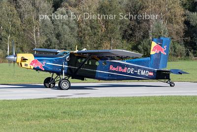2020-10-09 OE-EMD Pilatus PC6 Flying Bulls