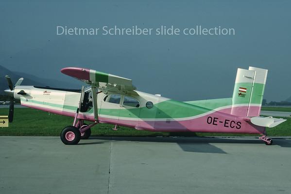 1988-10 OE-ECS Pilatus PC6 Tyrolean Air Ambulance