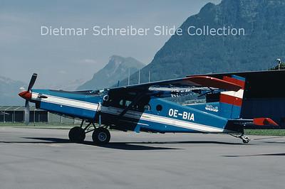 2000-08 OE-BIA Pilatus PC6/B2-H4 Turbo Porter (c/n 664) Austrian Police