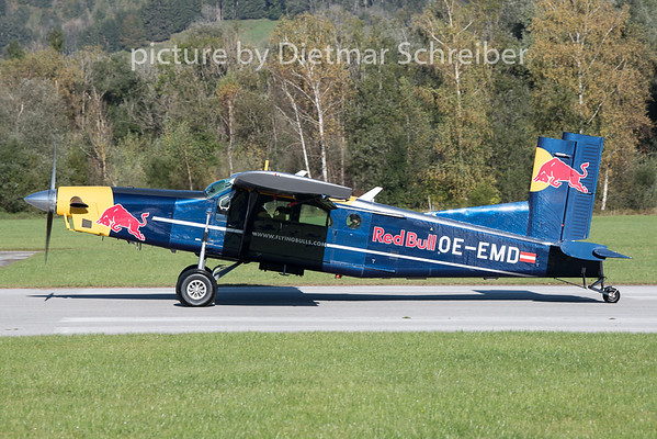 2020-10-09 OE-EMD Pilatus PC6 Flying Bulls